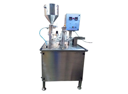 Automatic Cone & Cup filling & Crimping Machine
