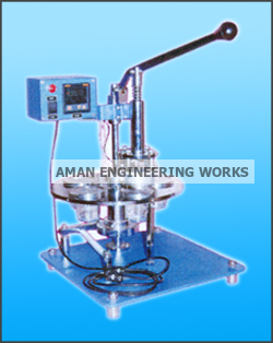 Manual Glass Packing Machine Rotary Cup Sealing Machine